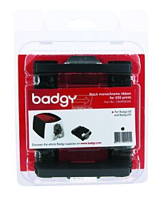 CBGR0500K Kit de Cinta Negra para Badgy 100 y Badgy 200