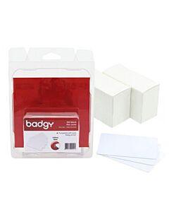 CBGC0030W Kit de 100 Tarjetas de 30 Milesimas para Badgy